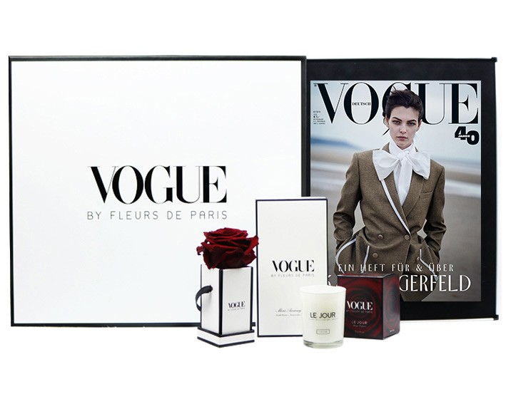 VOGUE BY FLEURS DE PARIS