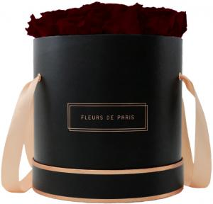 The Rosé Gold Collection Burgundy Large schwarz - rund