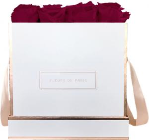 The Rosé Gold Collection Velvet Plum Large weiss - eckig