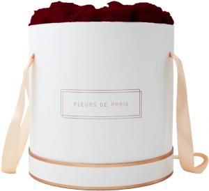 The Rosé Gold Collection Burgundy Petit Luxe weiss - rund