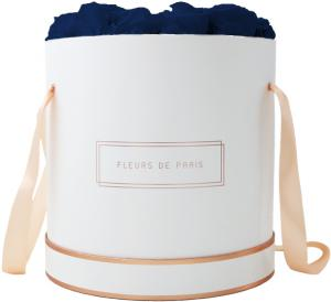 The Rosé Gold Collection Ocean Blue Petit Luxe weiss - rund