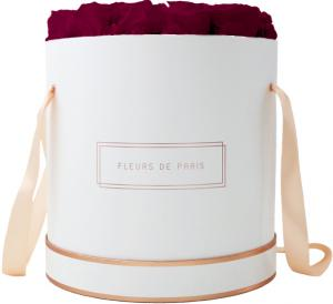 The Rosé Gold Collection Velvet Plum Petit Luxe weiss - rund