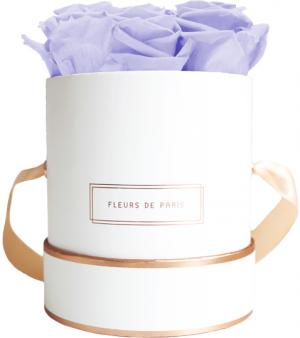 The Rosé Gold Collection Cool Lavender Small weiss - rund