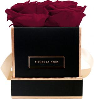 The Rosé Gold Collection Latin Cherry Small schwarz - eckig