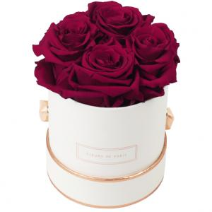 The Rosé Gold Collection Latin Cherry Small weiss - rund