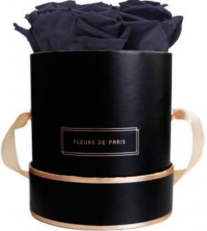 The Rosé Gold Collection Midnight Blue Small schwarz - rund