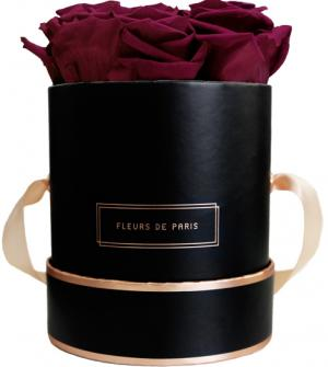 The Rosé Gold Collection Velvet Plum Small schwarz - rund