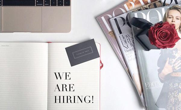 Fleurs de Paris is hiring!
